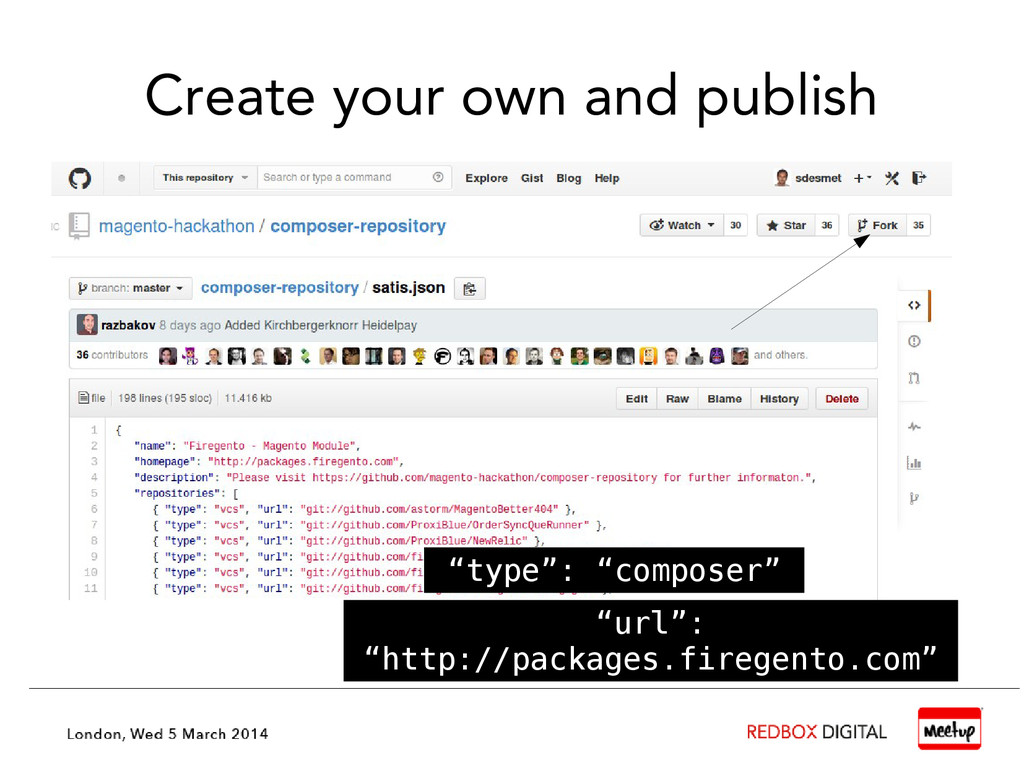 """Create your own and publish """"type"""": """"composer"""" ..."""