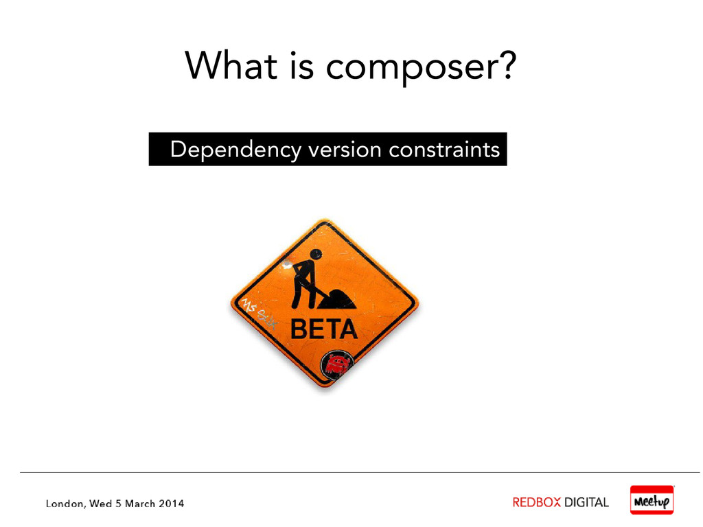 What is composer? Dependency version constraints