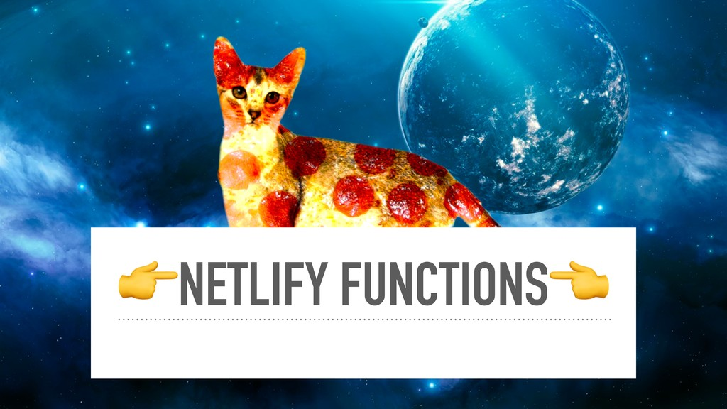 NETLIFY FUNCTIONS