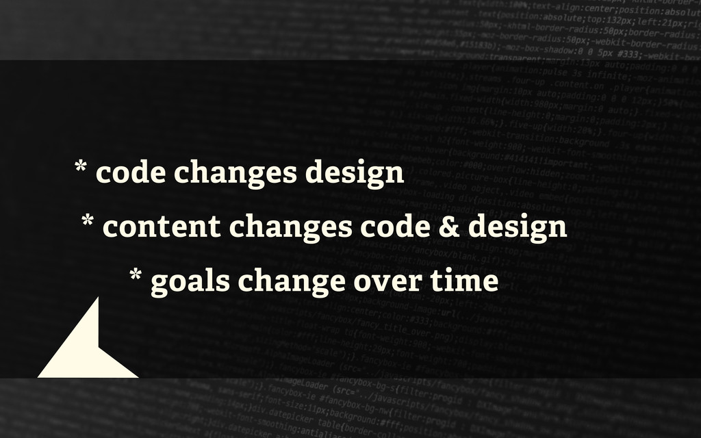 * code changes design * content changes code & ...
