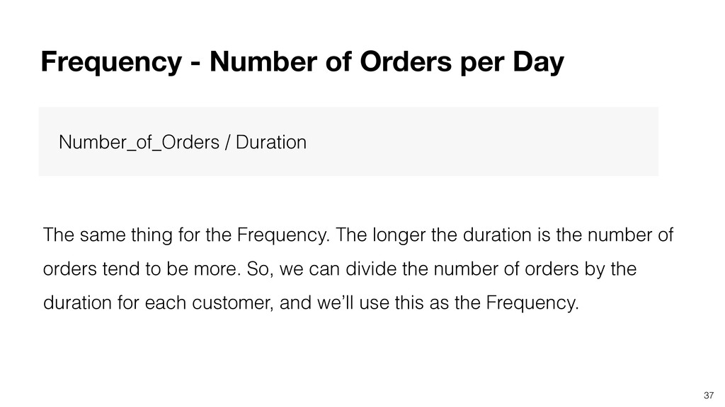 37 Number_of_Orders / Duration The same thing f...