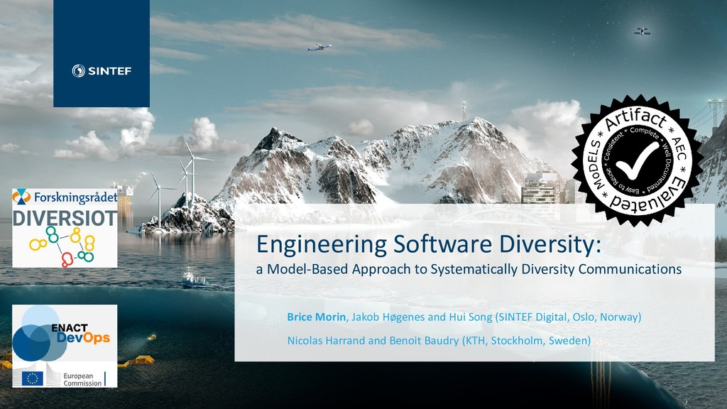 Engineering Software Diversity: a Model-Based A...