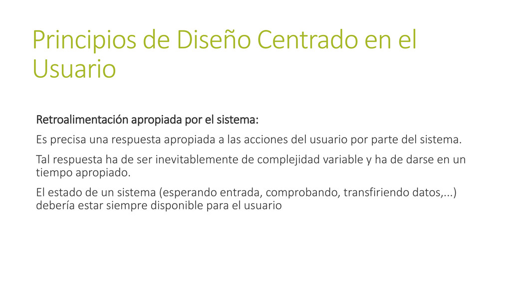 Principios de Diseño Centrado en el Usuario Ret...