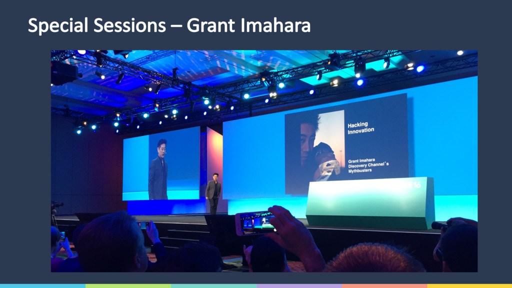 Special Sessions – Grant Imahara