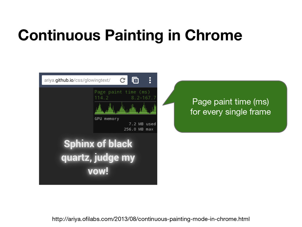 Continuous Painting in Chrome http://ariya.ofil...