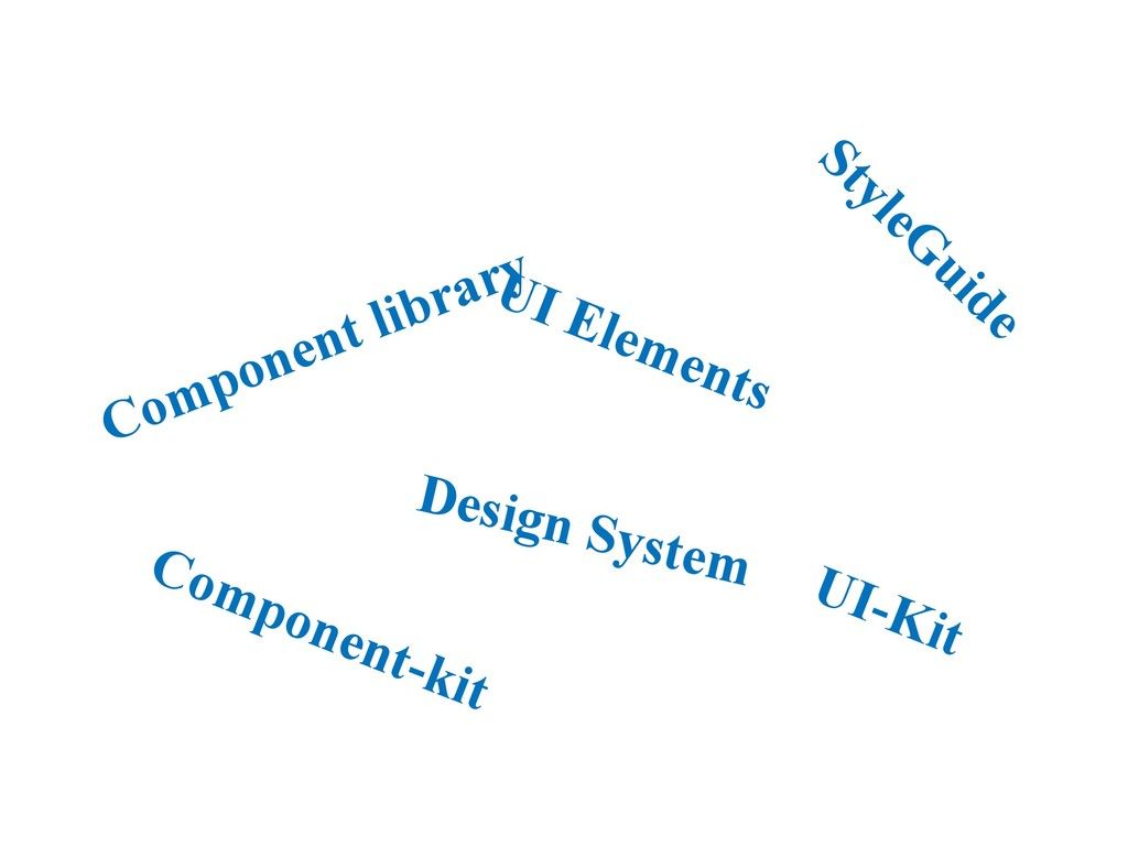Component library StyleG uide Design System UI-...