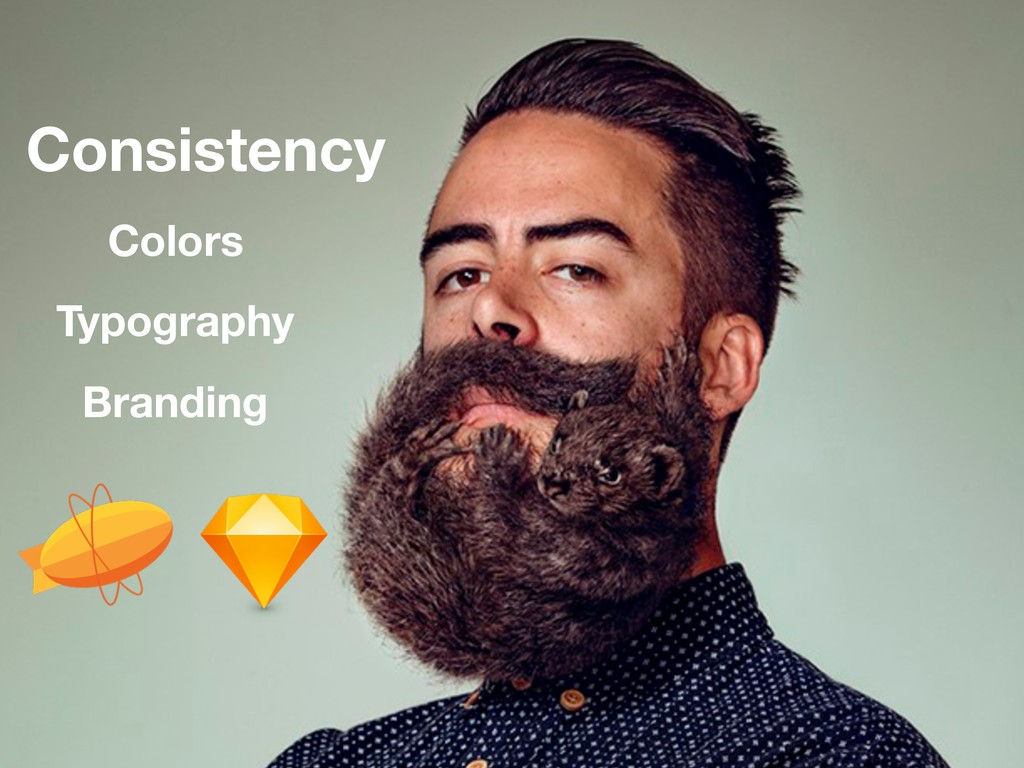 Consistency Colors Typography Branding