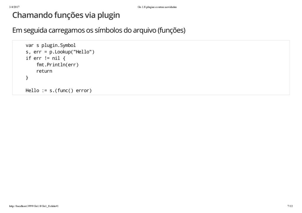 3/4/2017 Go 1.8 plugins e outras novidades http...