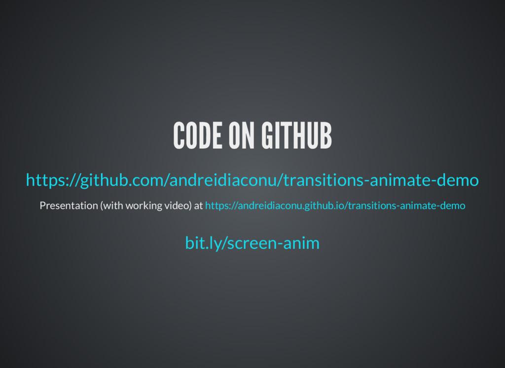 CODE ON GITHUB https://github.com/andreidiaconu...