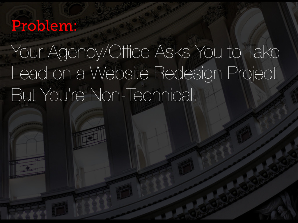 Your Agency/Office Asks You to Take Lead on a We...