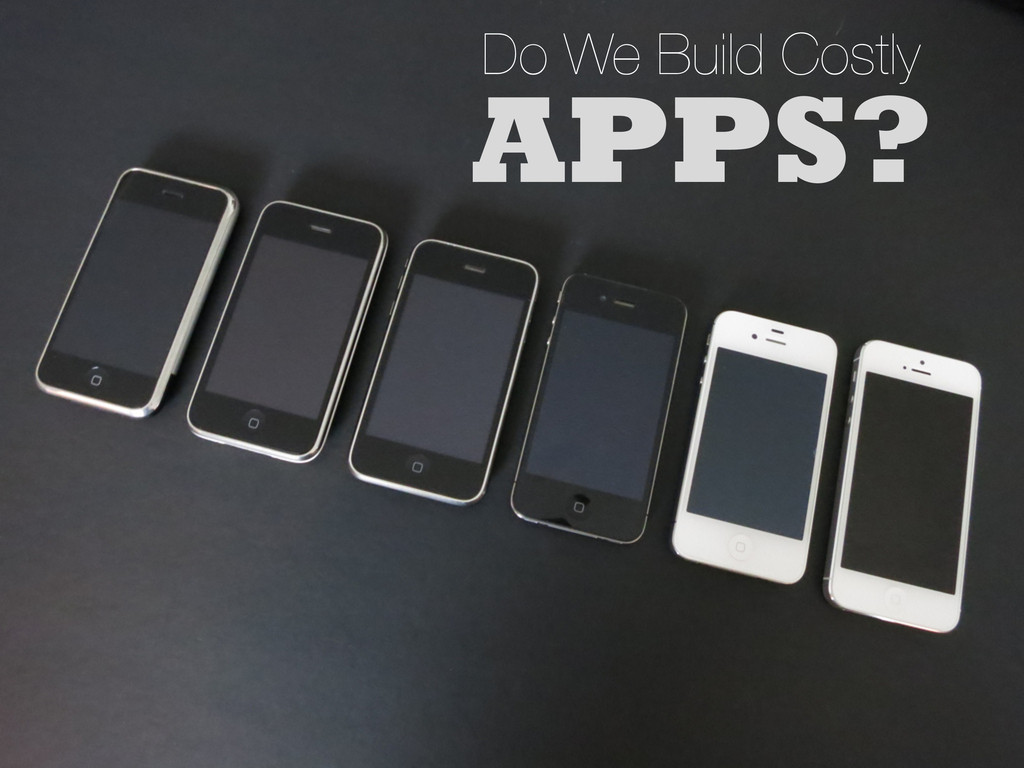 APPS? Do We Build Costly
