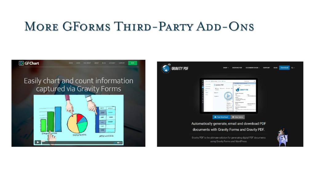 More GForms Third-Party Add-Ons