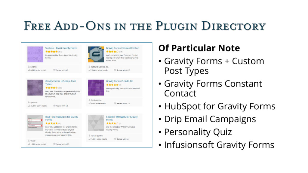 Free Add-Ons in the Plugin Directory Of Particu...