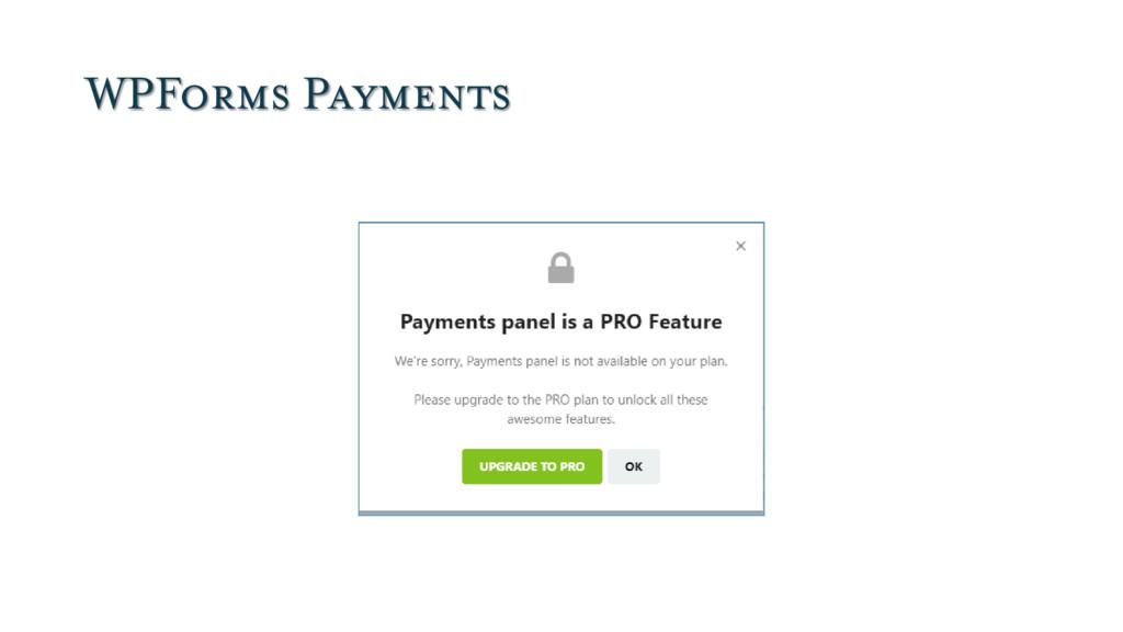 WPForms Payments
