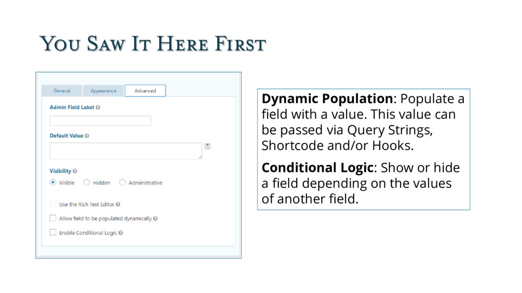 You Saw It Here First Dynamic Population: Popul...