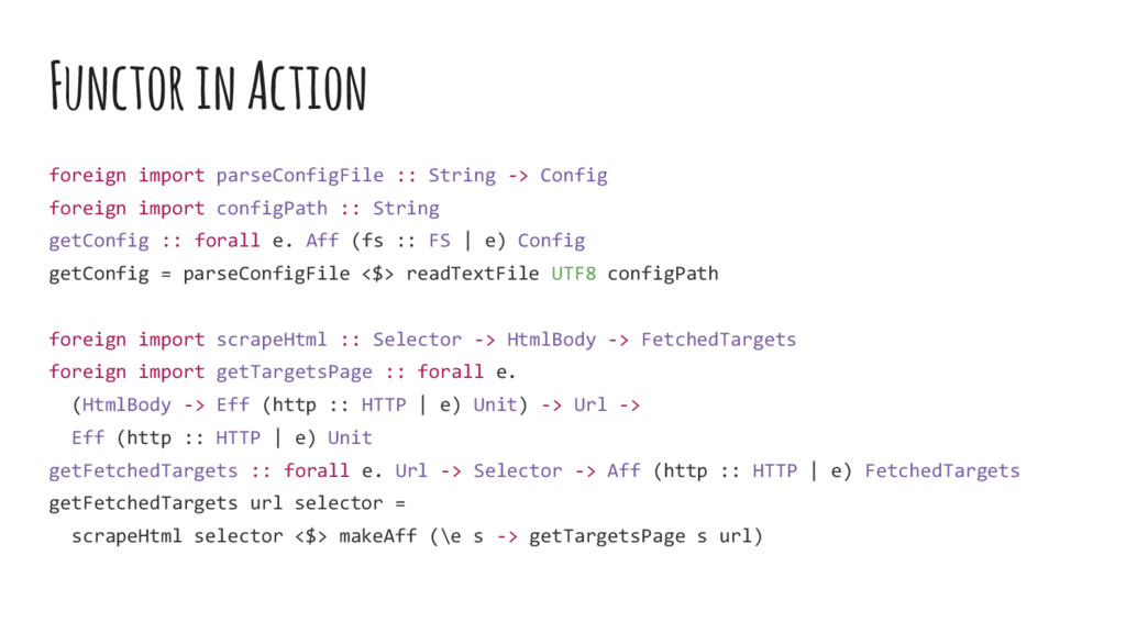 Functor in Action foreign import parseConfigFil...