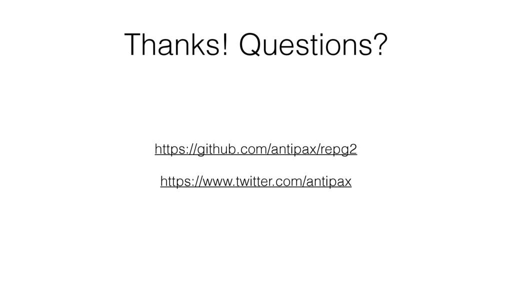 Thanks! Questions? https://github.com/antipax/r...