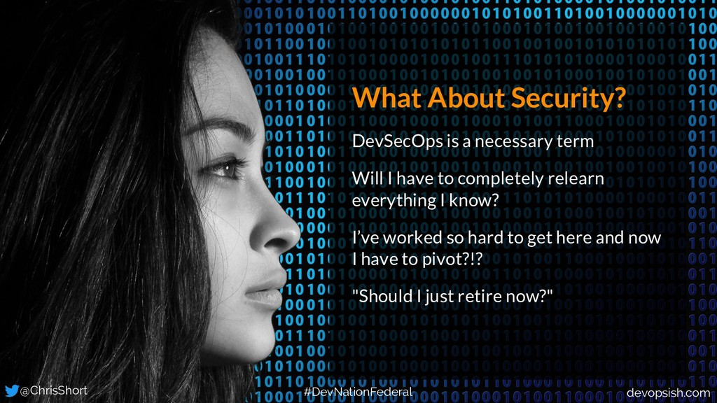 What About Security? DevSecOps is a necessary t...