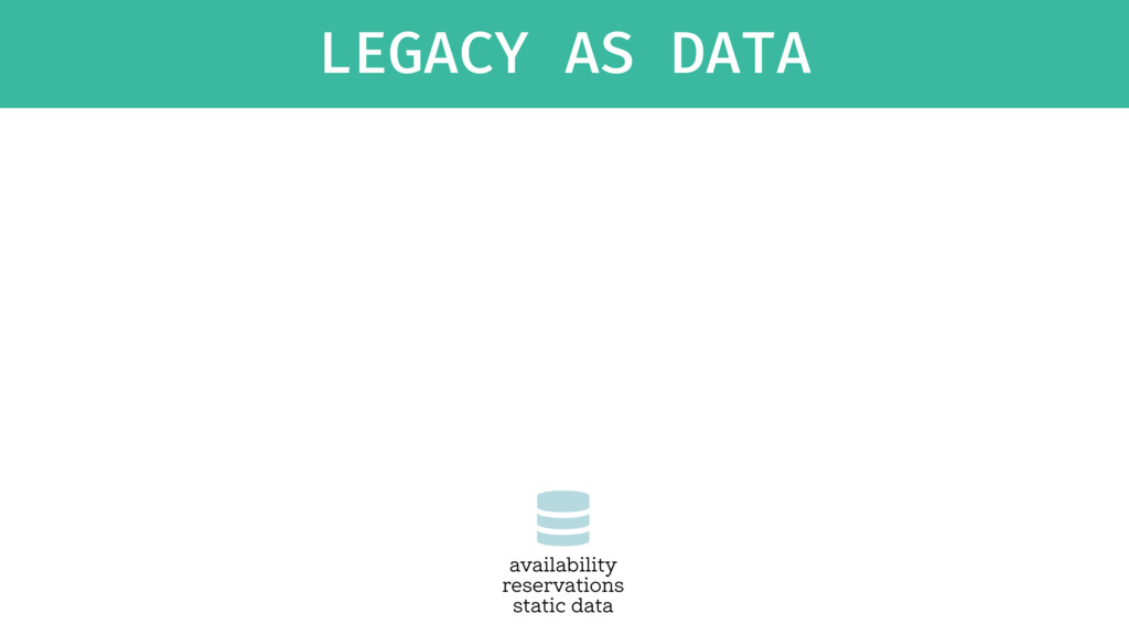 LEGACY AS DATA