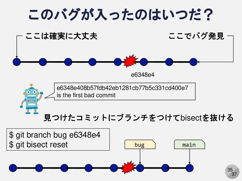 35 ここでバグ発見 ここは確実に大丈夫 e6348e408b57fdb42eb1281cb7...