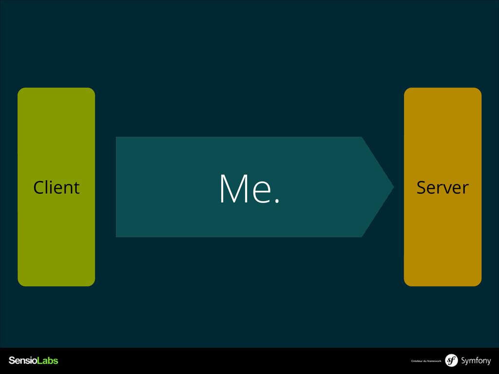 Me. Client Server