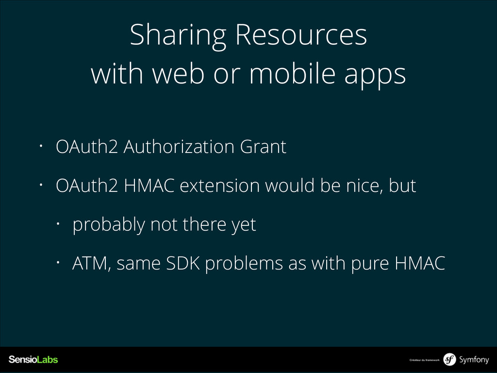 Sharing Resources with web or mobile apps • OAu...