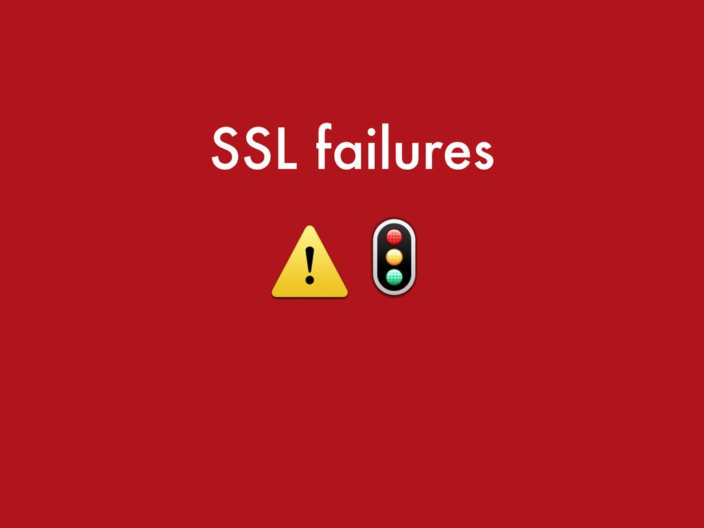 SSL failures ⚠️