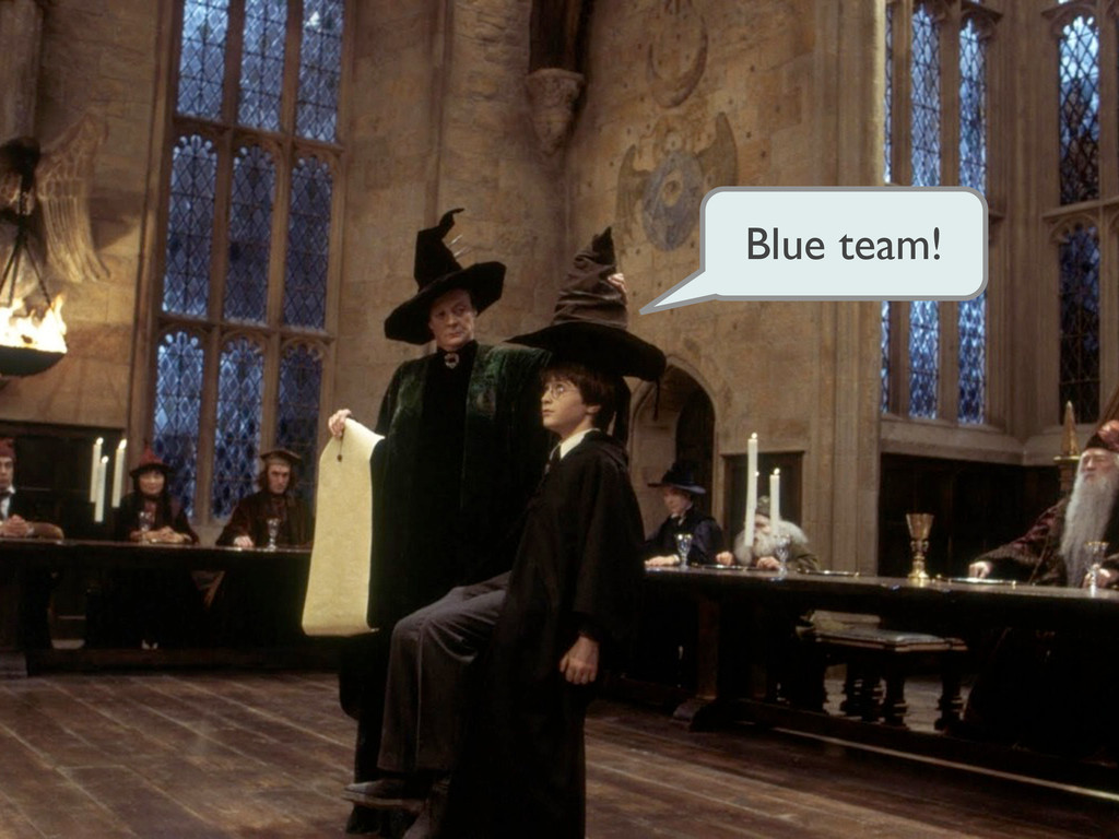 Blue team!