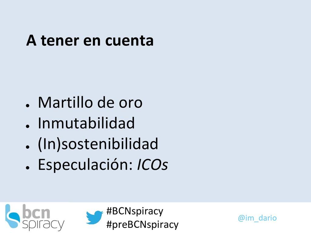 @im_dario #BCNspiracy #preBCNspiracy A tener en...