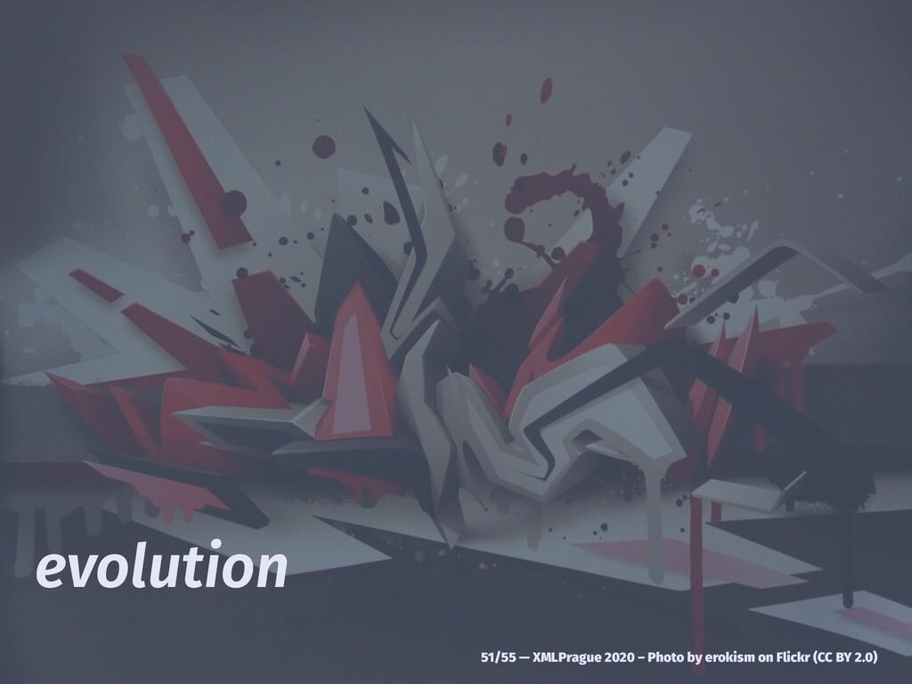 evolution 51/55 — XMLPrague 2020 – Photo by ero...
