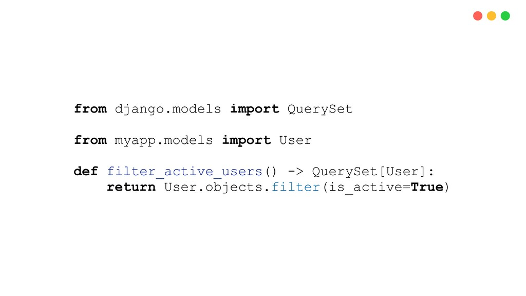 from django.models import QuerySet from myapp.m...