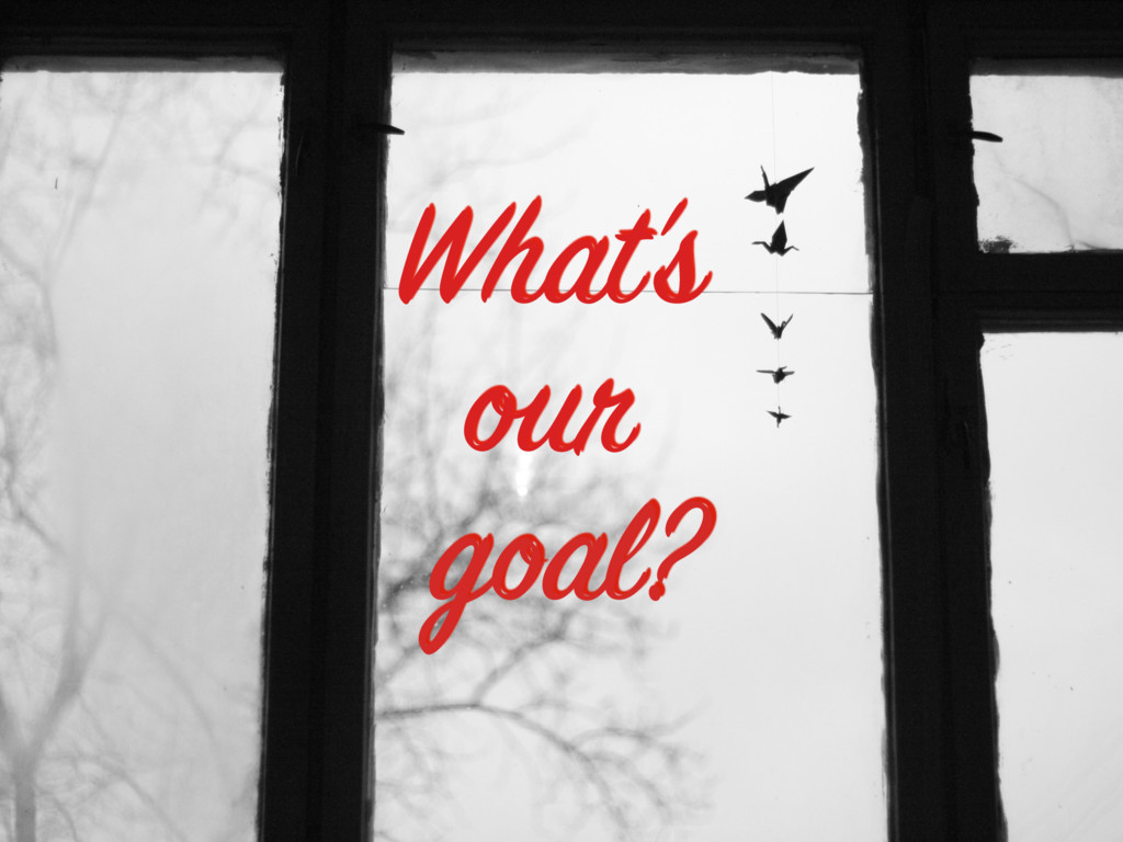 What's our goal?