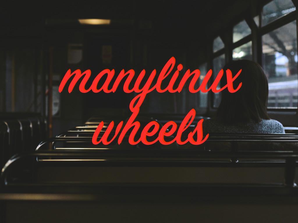 manylinux wheels