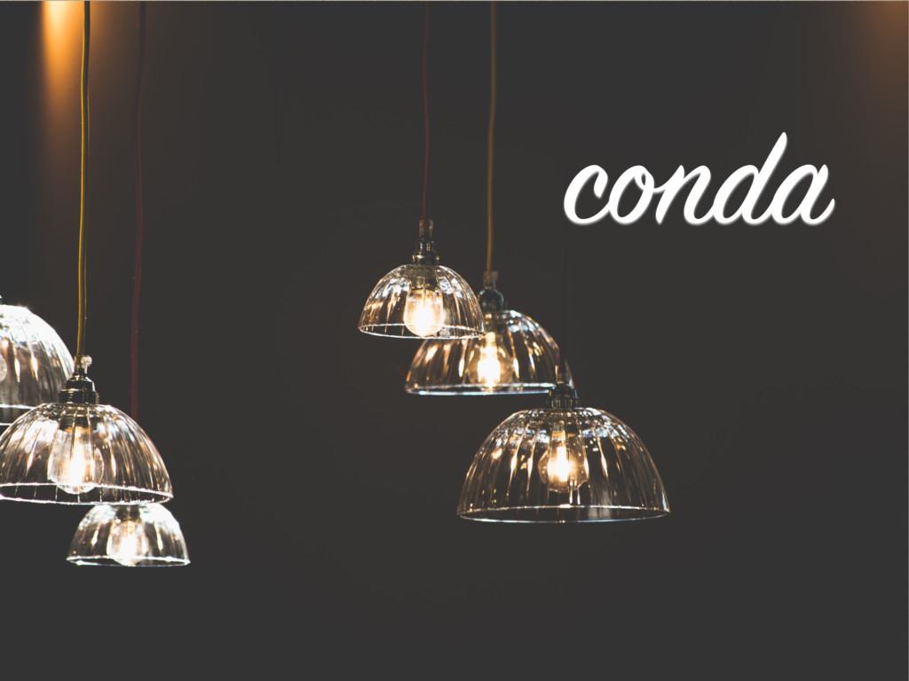 conda