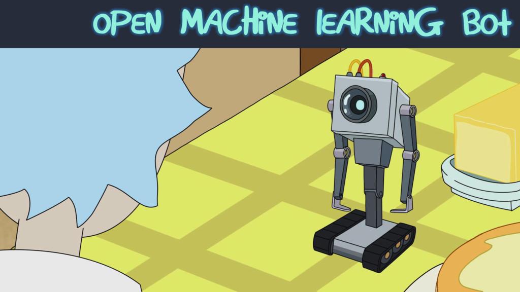 Open machine Learning bot