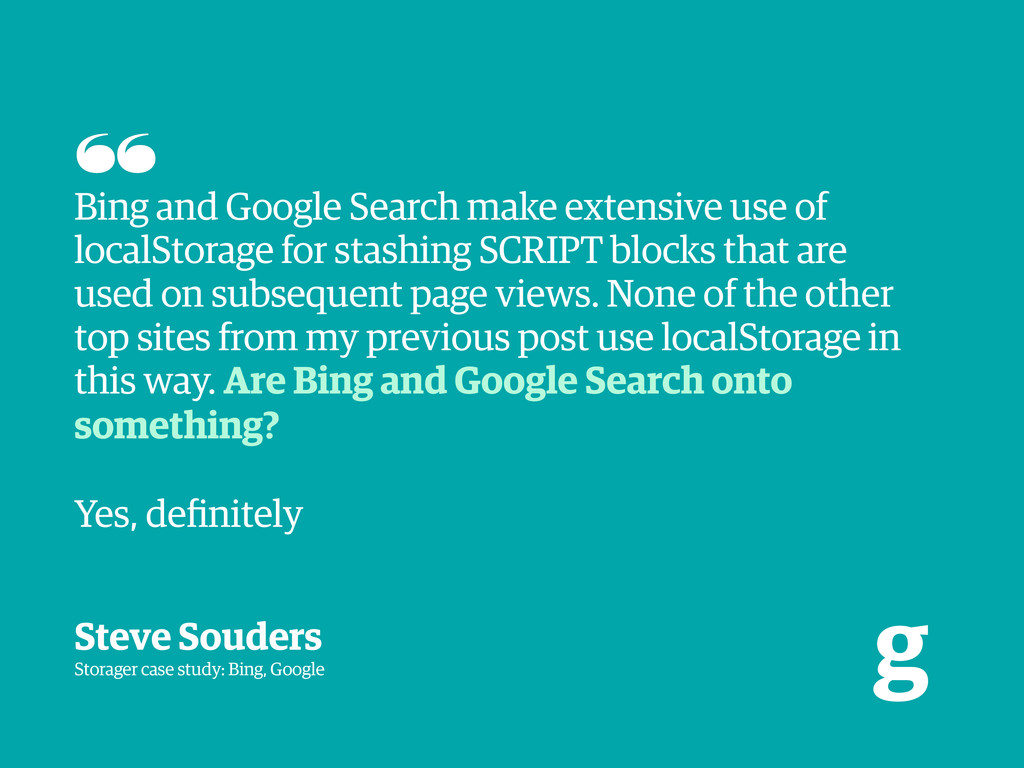 g Bing and Google Search make extensive use of ...