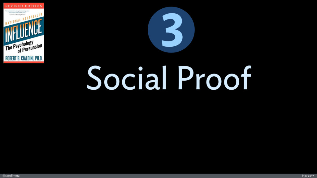 @sandimetz Nov 2017 Social Proof 3