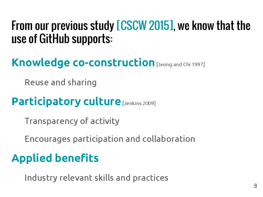 From our previous study [CSCW 2015], we know th...