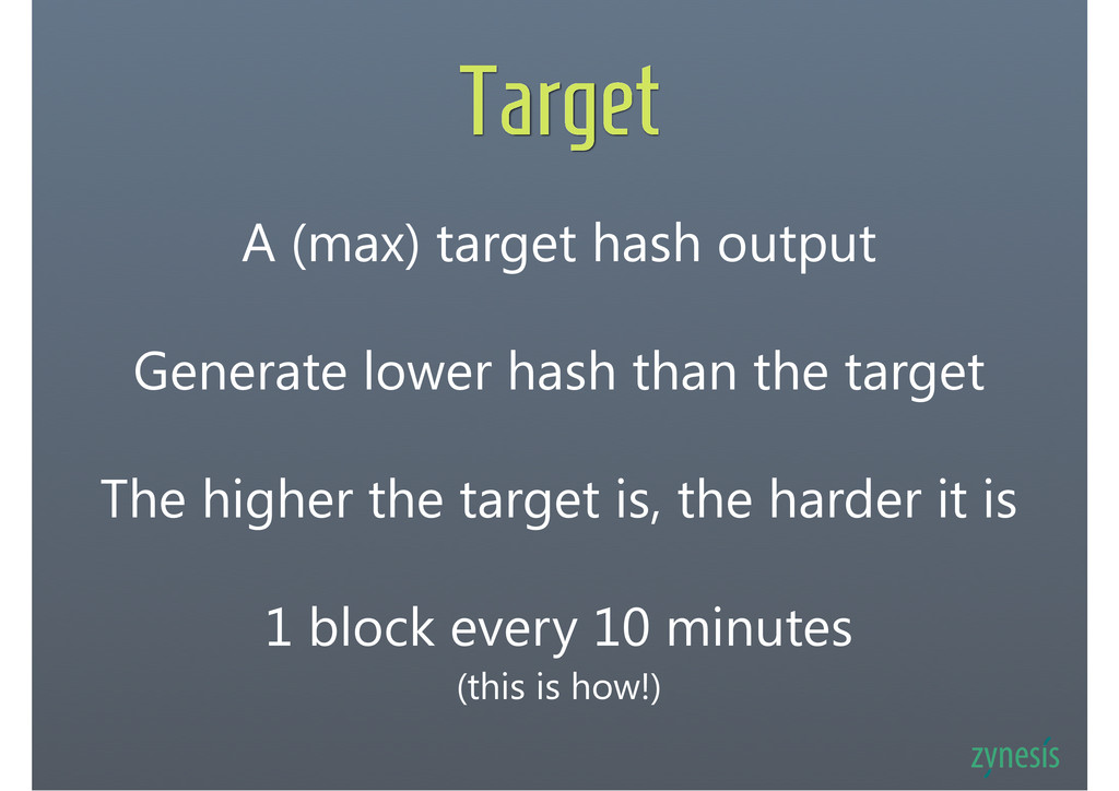 Target 1 block every 10 minutes (this is how!) ...