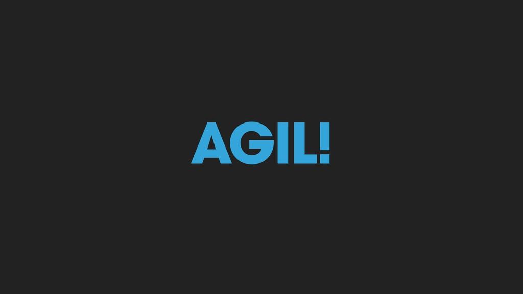AGIL! AGIL!