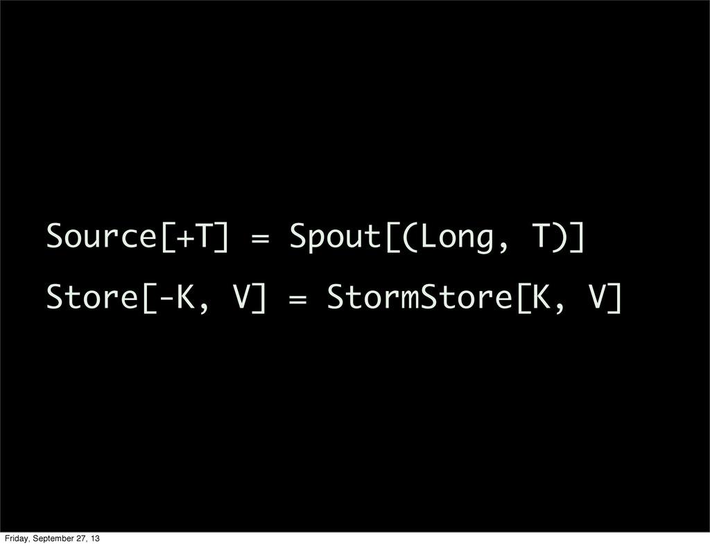 Source[+T] = Spout[(Long, T)] Store[-K, V] = St...