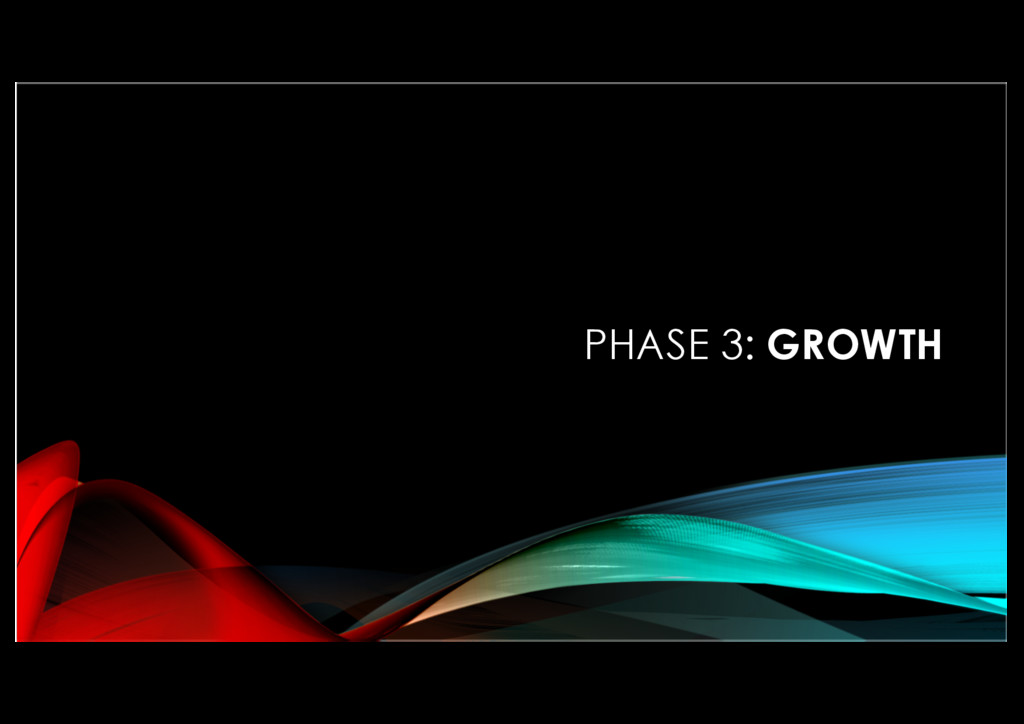 PHASE 3: GROWTH