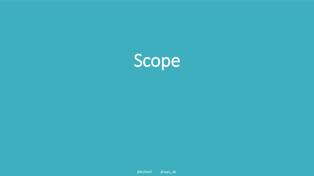 @hofstef @wps_de Scope