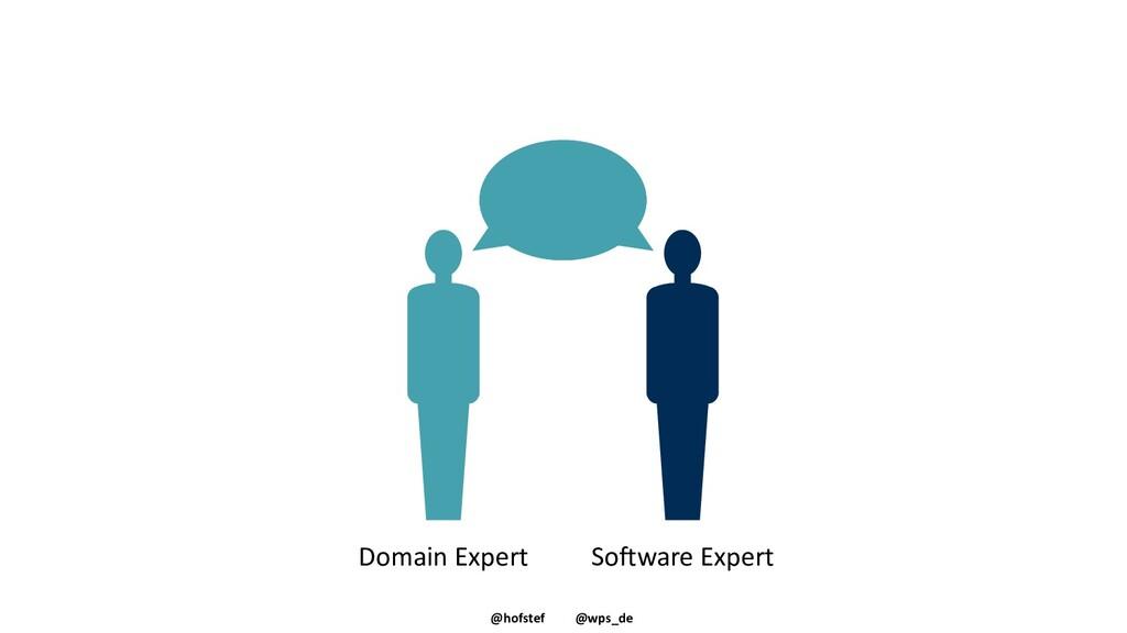 @hofstef @wps_de Fach- sprache Domain Expert So...