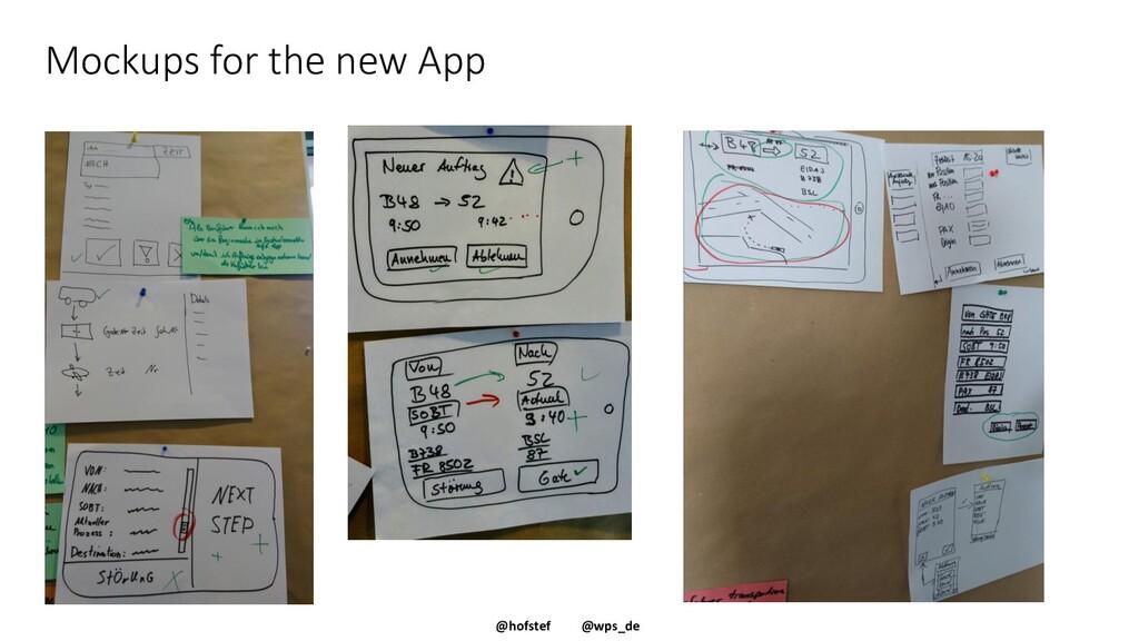 @hofstef @wps_de Mockups for the new App