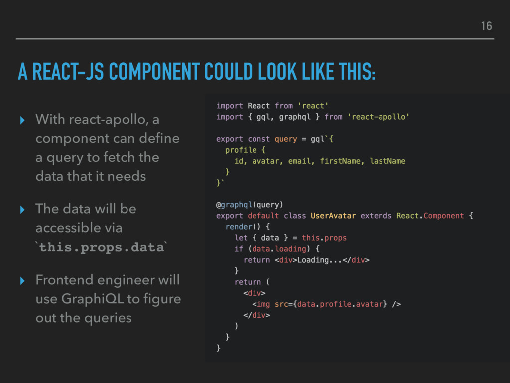 A REACT-JS COMPONENT COULD LOOK LIKE THIS: ▸ Wi...