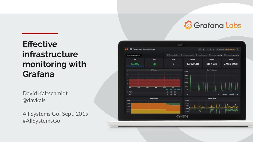 Effective infrastructure monitoring with Grafana...