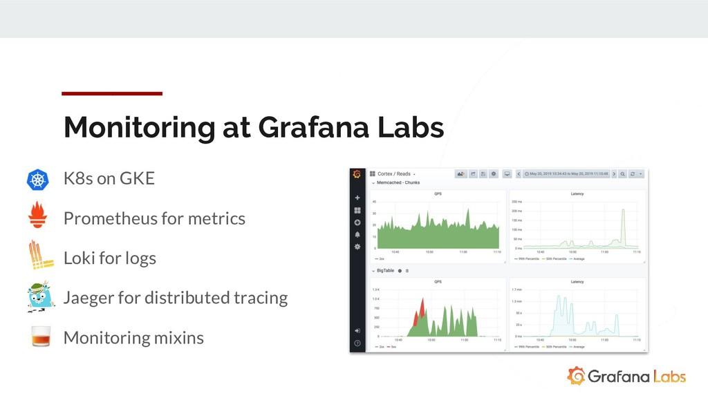 Monitoring at Grafana Labs K8s on GKE Prometheu...