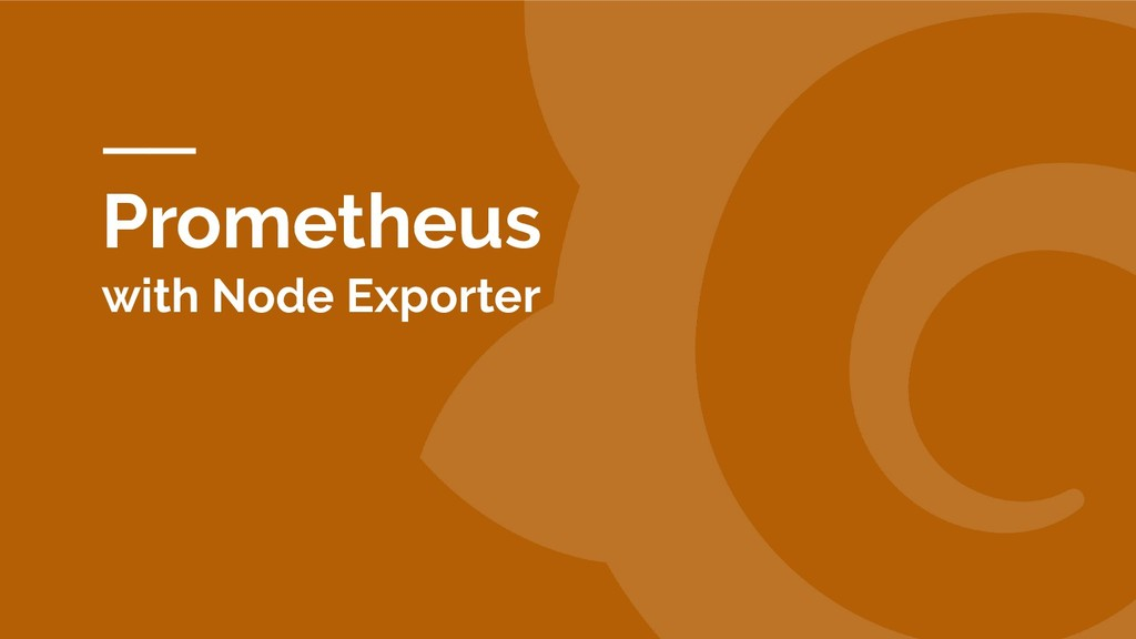 Prometheus with Node Exporter