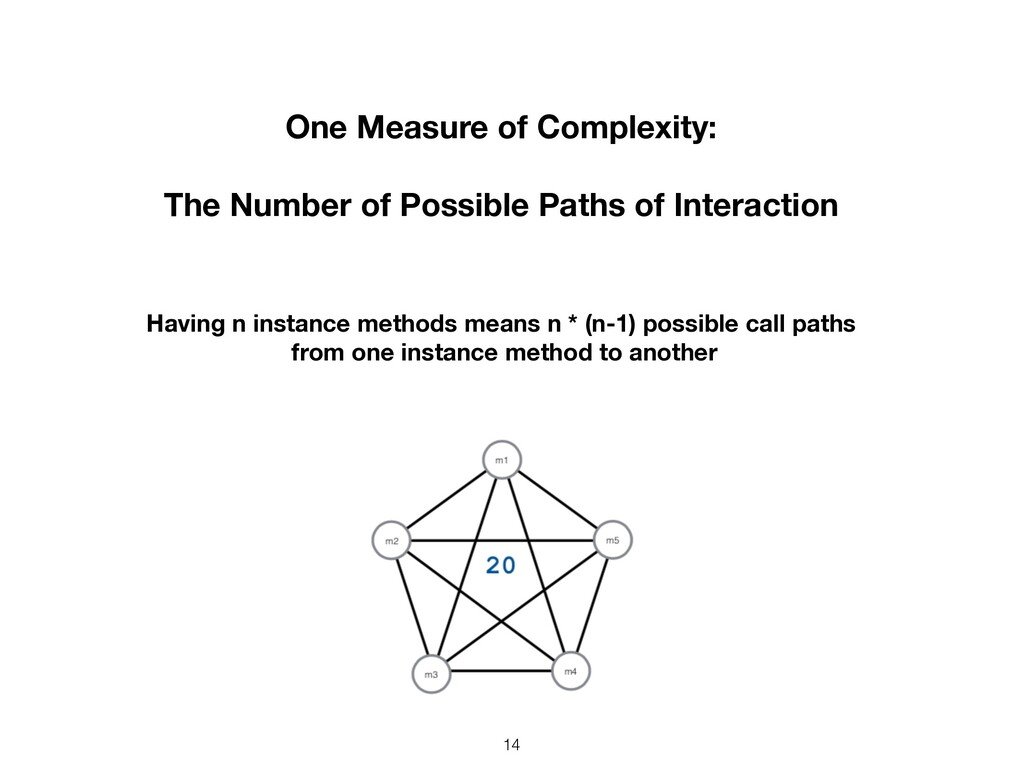 14 One Measure of Complexity: The Number of Pos...